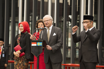 King Carl Gustaf XVI  King Carl XVI Gustaf and Queen Silvia's State Visit to Indonesia