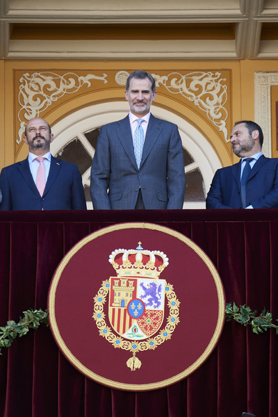King Felipe Of Spain Attends 'Corrida de la Beneficencia' Bullfights