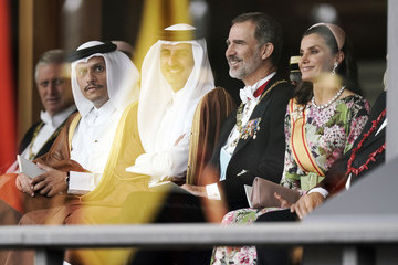 King Felipe VI Enthronement Ceremony Of Emperor Naruhito In Japan