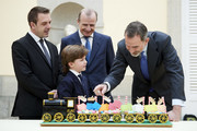 King Felipe VI Of Spain Receives 'Que Es Un Rey Para Ti' Competition Winners