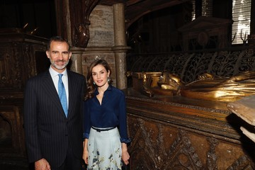 King Felipe VI State Visit of the King and Queen of Spain - Day 2