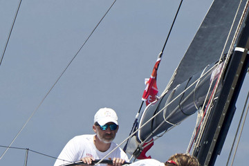 King Felipe VI of Spain Day 5 - 36th Copa del Rey Mapfre Sailing Cup