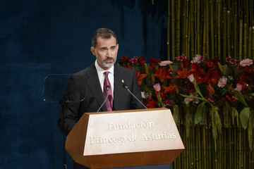 King Felipe VI of Spain Princesa de Asturias Awards 2016 - Day 2