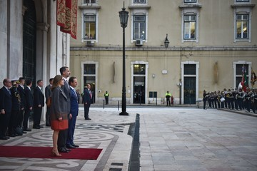 King Felipe VI Spanish Royals Visit Portugal - Day 2