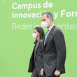 King Felipe VI Spanish Royals Inaugurate Ibedrola's Innovation And Formation Center