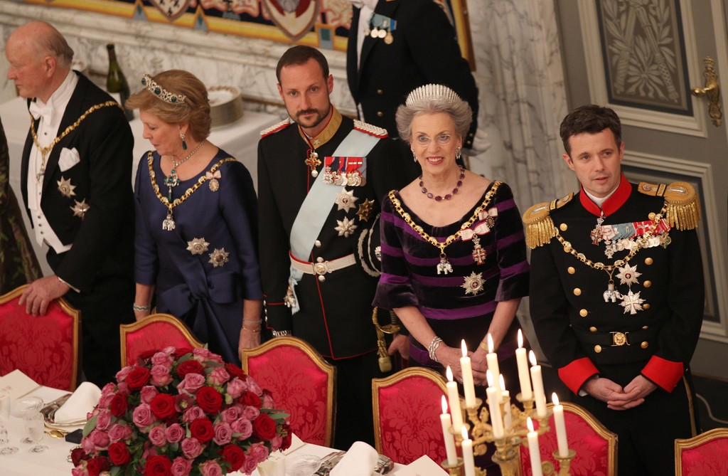 King And Queen Of Norway http://www.zimbio.com/photos/Crown+Prince+Frederik+of+Denmark/King+Harald+V+Of+Norway