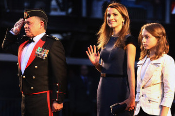 Princess Iman The King And Queen Of Jordan Attend The Royal Edinburgh Military Tattoo