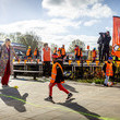 King Willem-Alexander King Willem-Alexander Of The Netherlands And Queen Maxima attend Kingsday Games In Amersfoort