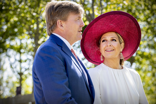 King Willem-Alexander Of The Netherlands And Queen Maxima Of The Netherlands Visit Betuwe