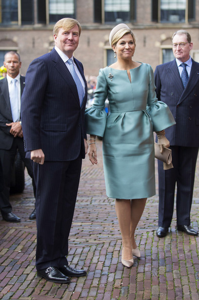 King Willem-Alexander of The Netherlands and Queen Maxima of The Netherlands attend the 200th anniversary celebrations of the Kingdom of The Netherlands at the Ridderzaal on November 30, 2013 in The Hague, Netherlands.