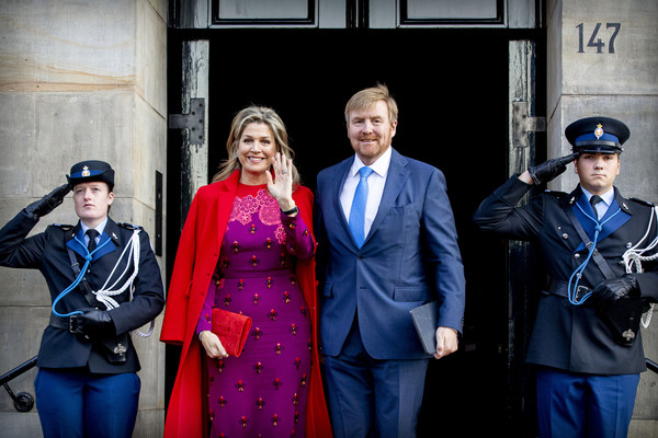 Dutch Royal Family Attends Prince Claus Award Ceremony In Amsterdam
