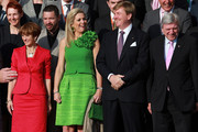 Ursula Bouffier and King Willem-Alexander Photos Photo