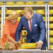 King Willem-Alexander King Willem-Alexander Of The Netherlands And Queen Maxima Of The Netherlands Visit Friesland Region