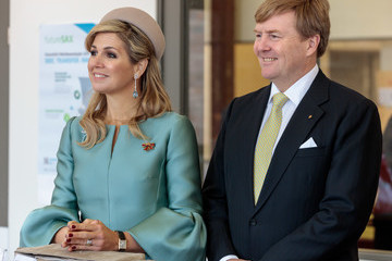 King Willem-Alexander King Willem-Alexander And Queen Maxima Of The Netherlands Visit Saxony - Day 2
