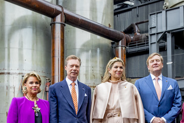 King Willem-Alexander King And Queen Of The Netherlands Visit Luxembourg : Day Two