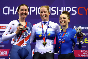 Kirsten Wild Track Cycling - European Championships Glasgow 2018: Day Five