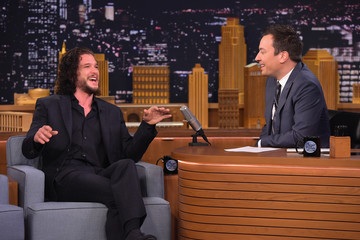 Kit Harrington Kit Harington Visits 'The Tonight Show Starring Jimmy Fallon'
