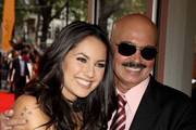 Barbara Mori and Rakesh Roshan attend the European Premiere of 'Kites' at Odeon West End on May 18, 2010 in London, England.