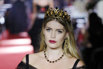 Kitty Spencer Dolce & Gabbana Secret Show at Bar Martini - Runway - Milan Fashion Week SS 2018