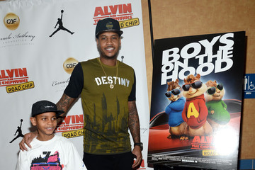 Kiyan Anthony 'Alvin and the Chipmunks: The Road Chip' New York Screening