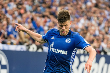Klaas Jan Huntelaar FC Schalke 04 v Hamburger SV - Bundesliga