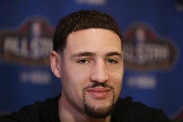Klay Thompson NBA All-Star Game 2017 - Media Availability