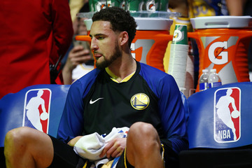 Klay Thompson Golden State Warriors v Los Angeles Lakers
