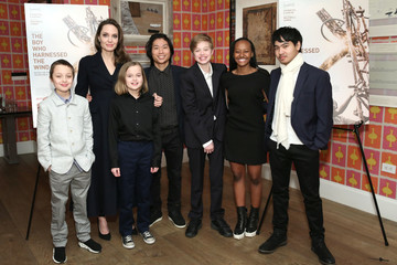 Knox Jolie-Pitt 'The Boy Who Harnessed The Wind' Special Screening, Hosted By Angelina Jolie
