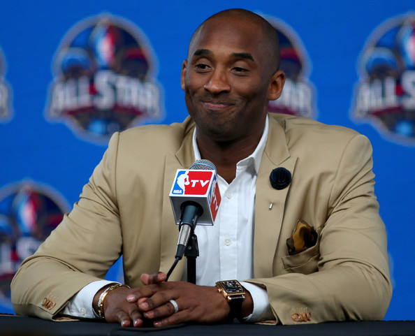 Kobe Bryant Photos Photos NBA AllStar Press ConferencesMedia