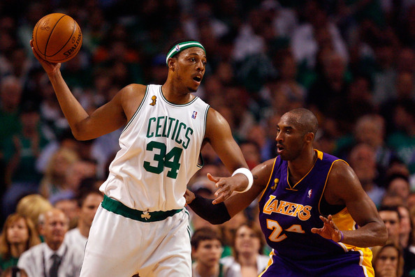 Kobe Bryant and Paul Pierce Photos Photos - 2010 NBA ...