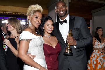 Kobe Bryant Vanessa Bryant 90th Annual Academy Awards - Governors Ball