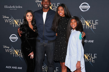 Kobe Bryant Vanessa Bryant Premiere Of Disney's 'A Wrinkle In Time' - Arrivals