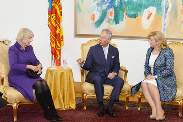 Kolinda Grabar-Kitarovic The Prince of Wales and The Duchess of Cornwall Visit Croatia