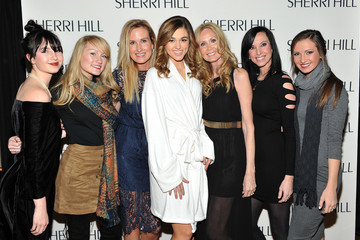 Korie Robertson Sherri Hill - Backstage - Fall 2016 New York Fashion Week: The Shows