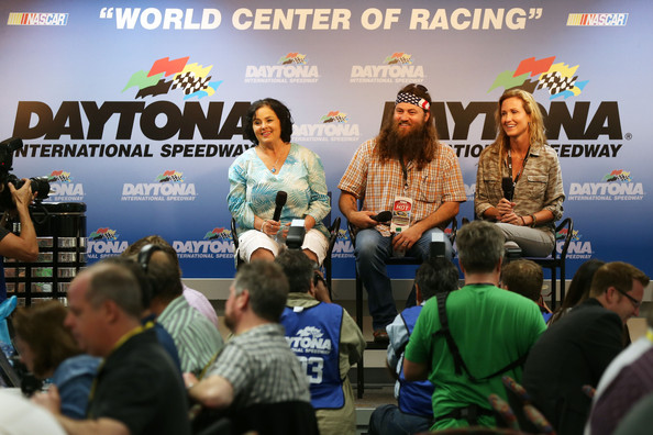 Korie Robertson Duck Dynasty cast members (L-R) Kay Robertson, Willie
