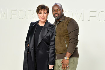 Kris Jenner Corey Gamble Tom Ford AW20 Show - Arrivals