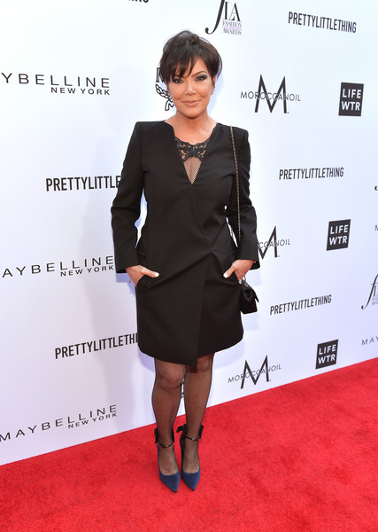 The Daily Front Row Hosts 4th Annual Fashion Los Angeles Awards - Red Carpet [clothing,red carpet,dress,carpet,cocktail dress,fashion,little black dress,footwear,suit,formal wear,kris jenner,beverly hills hotel,california,red carpet,the daily front row,daily front row hosts 4th annual fashion los angeles awards]