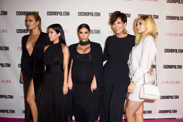 Kris Jenner Kylie Jenner Cosmopolitan's 50th Birthday Celebration - Red Carpet