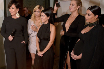 Kris Jenner Kylie Jenner Cosmopolitan's 50th Birthday Celebration - Inside