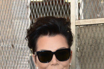 Kris Jenner Celebrities Arrive at Givenchy During Paris Fashion Week
