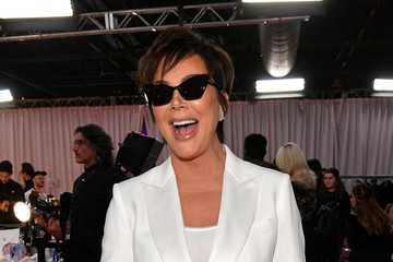 Kris Jenner 2018 Victoria's Secret Fashion Show in New York - Backstage