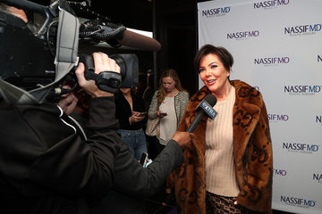 Kris Jenner Dr. Paul Nassif Unveils His New Medical Spa With Grand Opening and Ribbon Ceremony
