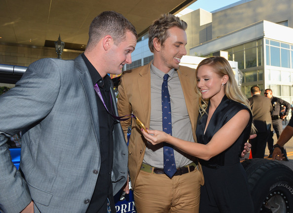 """Kristen Bell and Tyler Clary - Premiere Of Open Road Films' """"Hit & Run"""" - Red Carpet"""