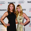 Kristen Detterline Philadelphia Style Magazine Holiday 2013 Cover Event With Beth Behrs From Two Broke Girls