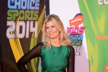 Kristen Johnston Arrivals at the Nickelodeon Kids' Choice Sports Awards
