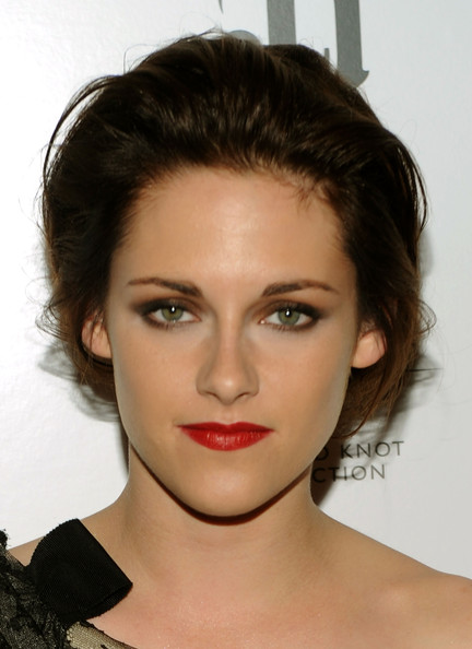 "Kristen Stewart Actress Kristen Stewart attends The Cinema Society & Everlon Diamond Knot Collection's screening of ""Welcome To The Rileys"" on October 18, 2010 at the Tribeca Grand Hotel in New York City."