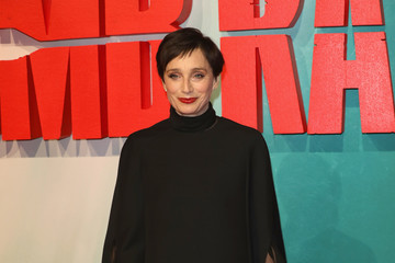 Kristin Scott Thomas 'Tomb Raider' European Premiere - Red Carpet Arrivals