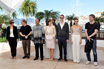 Kristin Scott Thomas Rhatha Phongam 'Only God Forgives' Photo Call in Cannes