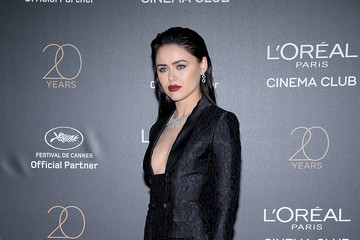 Kristina Bazan Gala 20th Birthday of L'Oreal in Cannes - The 70th Annual Cannes Film Festival