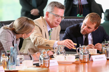 Kristina Schroeder German Weekly Government Cabinet Meeting